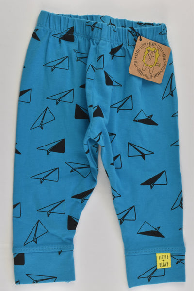 NEW Little & Brave Size 0 (9 months) Paper Planes Pants