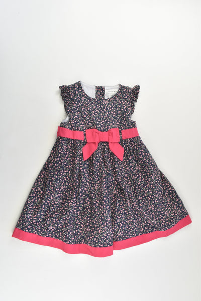 NEW Maggie & Zoe Size 1 (12-18 months, 86 cm) Lined Floral Dress