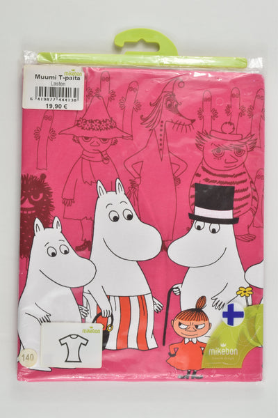 NEW Mikebon (Finland) Size 9-11 (140 cm) Moomin T-shirt