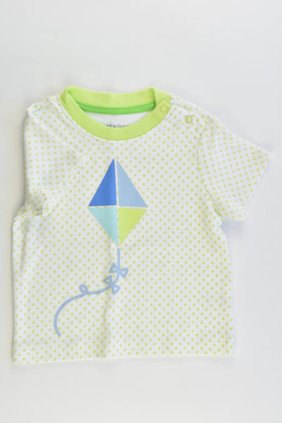 NEW Mix Baby Size 0 (6-9 months, 76 cm) Kite T-shirt
