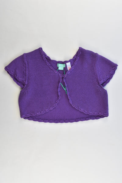 NEW Monsoon Size 6-8 Knitted Cardigan