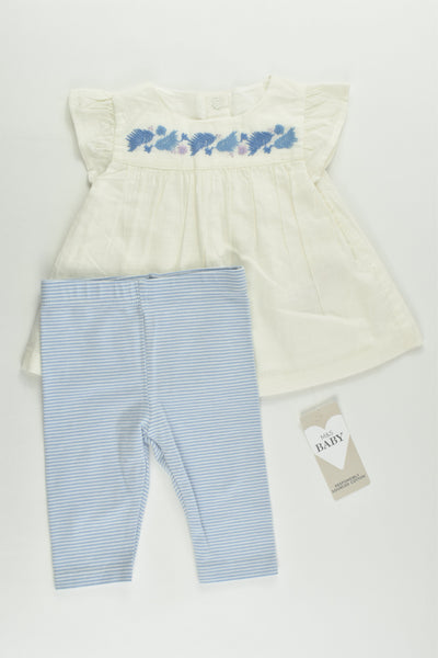 NEW M&S Size 000 (0-3 months) Outfit