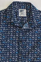 NEW Next Size 3-4 Mustaches Collared Shirt