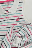 NEW OVS (Italy) Size 10-11 (146 cm) Striped 'Love' Polo Shirt