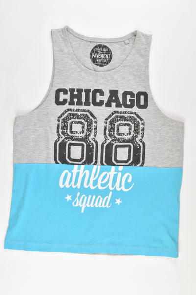 "NEW Pavement Size 10 ""Chicago 88 Athletic Squad"" Tank Top"