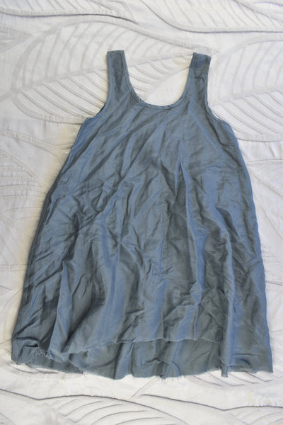 NEW Pinch and Spoon Size 4 Silk/Cotton Dress Charcoal