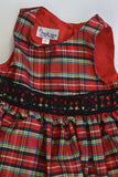 NEW Pippa & Julie (USA) Size 2 Checked Layered Dress and Velvety Cardigan