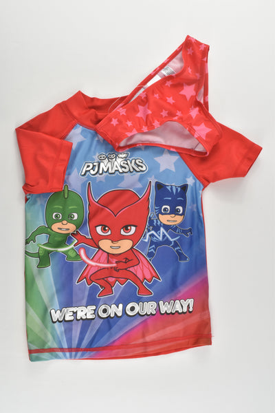 NEW Pj Masks Size 4 'We're On Our Way' Rashie Set