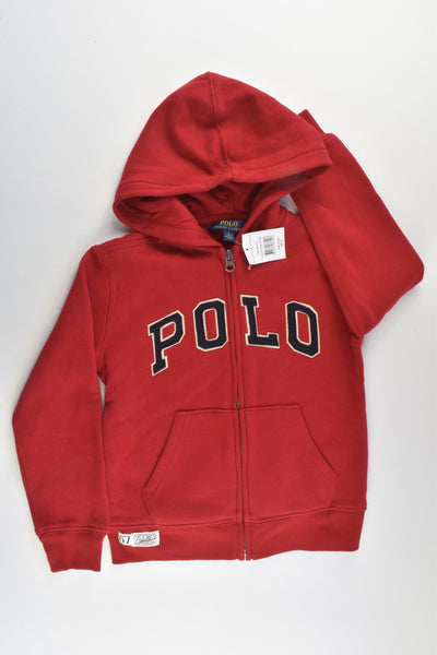 NEW Polo Ralph Lauren Size 5 Hooded Jumper