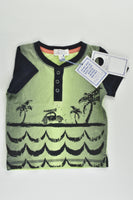 NEW Pumpkin Patch Size 00 (3-6 months) Beach Car T-shirt