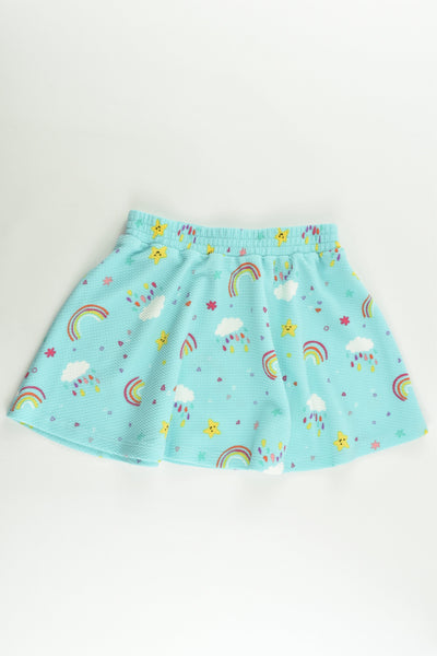 NEW St Bernard for Dunnes Stores Size 2-3 (98 cm) Rainbows Skirt