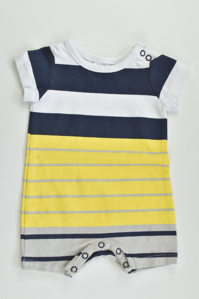 NEW Target Size 0000 Striped Short Romper