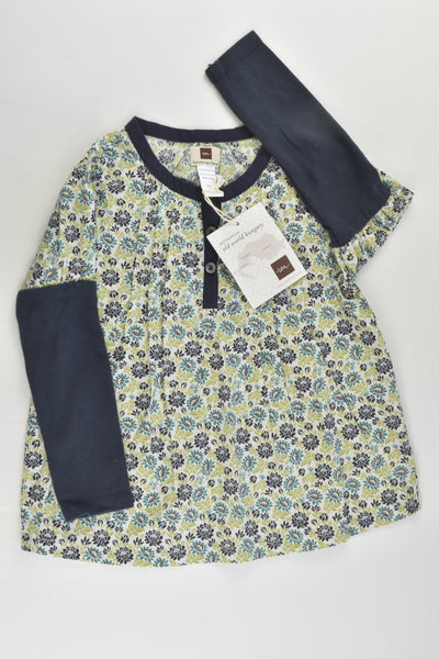 NEW Tea (US) Size 3 Hungarian Floral Blouse