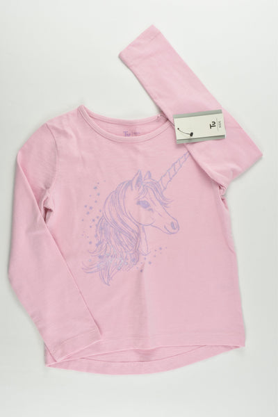NEW TU Size 5 (110 cm) Unicorn Top