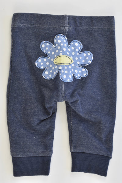 Next Size 00 (3-6 months) Flower at the Back Pants