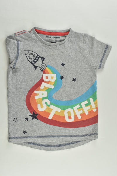 Next Size 1 (12-18 months) 'Blast Off' T-shirt