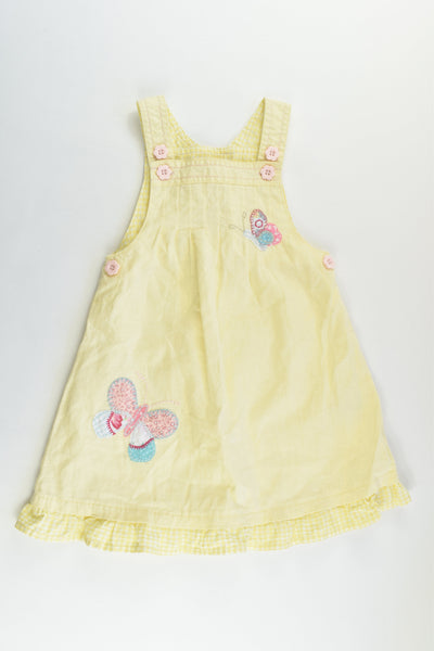 Next Size 1 (12-18 months) Linen/Cotton Dress
