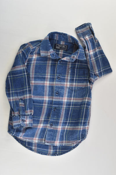 Next Size 2-3 (98 cm) Casual Checked Shirt