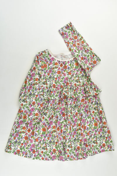 Next Size 2-3 (98 cm) Liberty Print Tunic/Dress