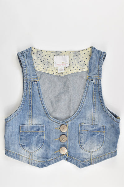Next Size 9 Denim Vest