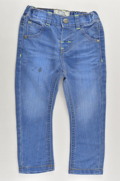 Next (UK) Size 1 (12-18 months) Denim Pants