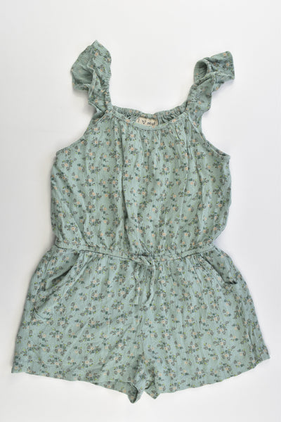 Next (UK) Size 5 (110 cm) Floral Playsuit