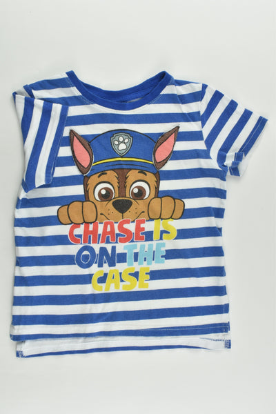 Nickelodeon Size 2 Paw Patrol 'Chase Is On The Case' T-shirt