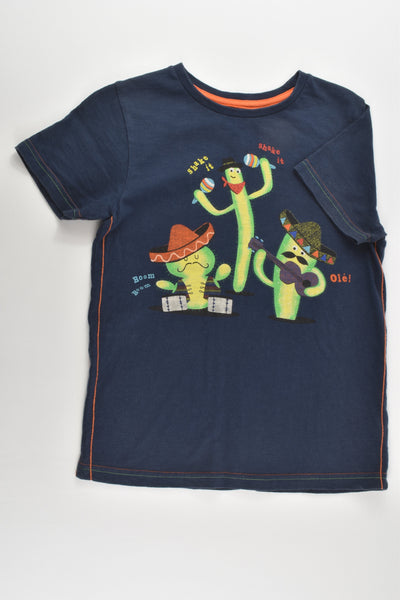 Nutmeg Size 7-8 Mexican Cactus T-shirt