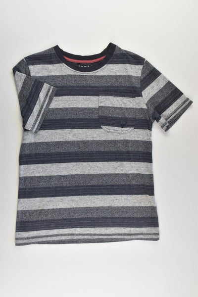 Nutmeg Size 9-10 Striped T-shirt with Pocket