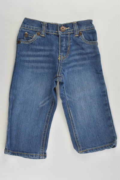 OshKosh Size 0 (9 months) Denim Pants