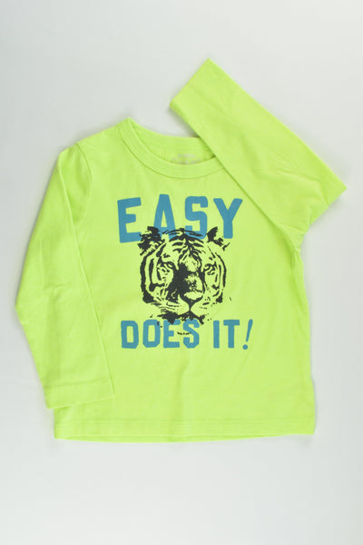 OshKosh Size 3 'Easy Does It!' Tiger Top