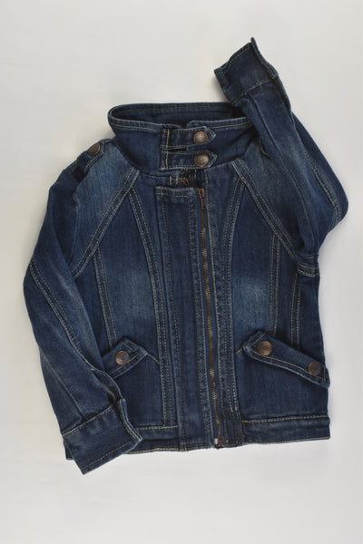 OshKosh Size 3 Stretchy Denim Jacket