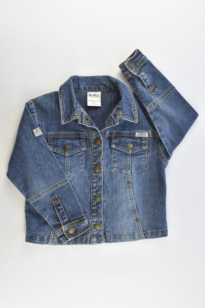 OshKosh Size 4 Stretchy Denim Jacket