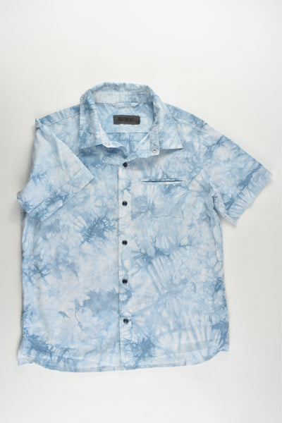 Pavement Size 12 Tie-Dye Collared Shirt