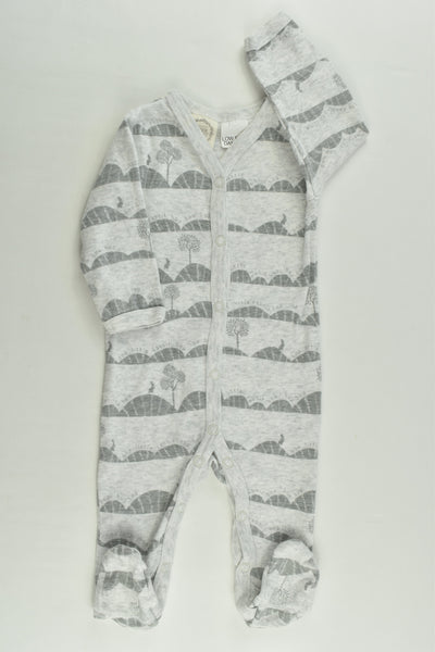Peter Rabbit Size 000 'Hop Little Rabbit Hop' Romper