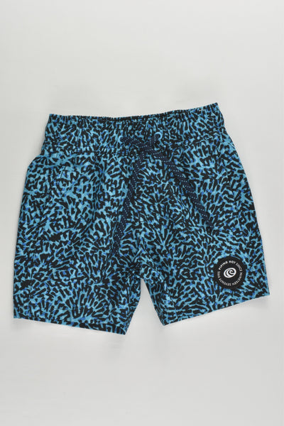 Piping Hot size 3 Leopard Board Shorts