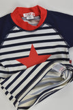Plum Size 00 (3-6 months) Star and Stripes Rashie Top