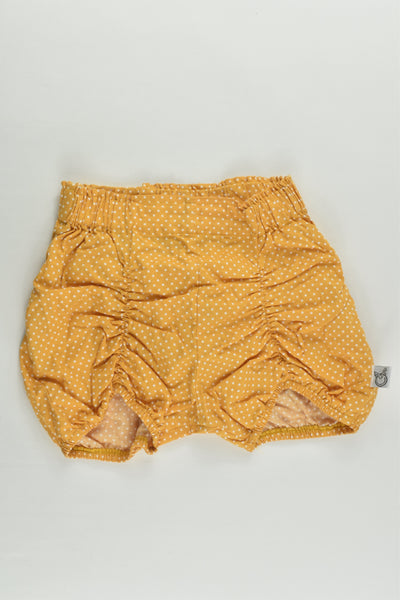 Pour Bebe by Couturekidz Collection Size 3 Mustard Shorts with Bow at the Back
