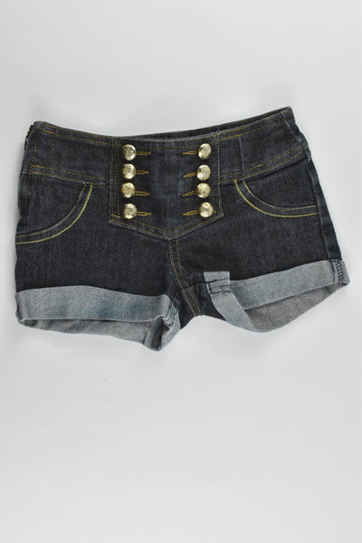 Primark (Denim Company) Size 4-5 (110 cm) Stretchy Denim Shorts