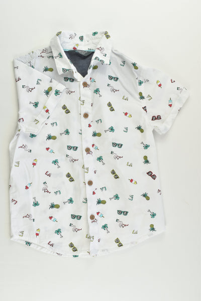 Primark Size 4-5 (110 cm) Topical Shirt