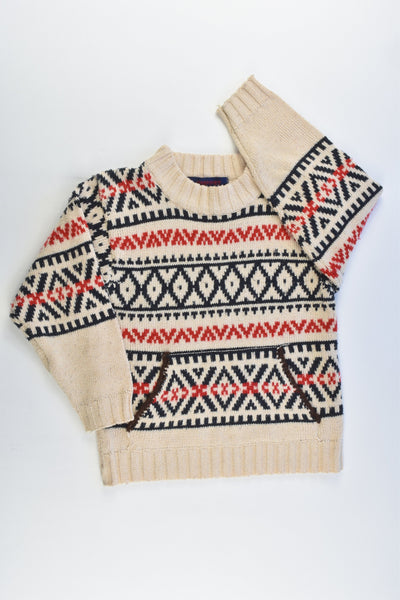 Puppet Size approx Knitted Jumper
