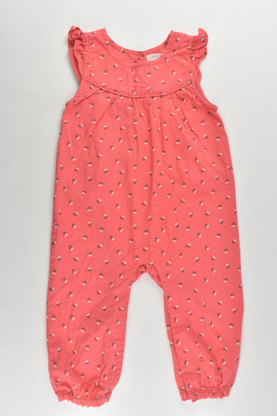 Purebaby Size 0 (6-12 months) Playsuit