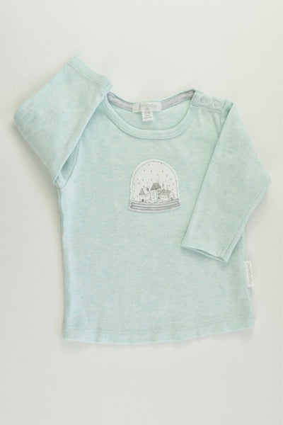 Purebaby Size 00 (3-6 months) Houses Top