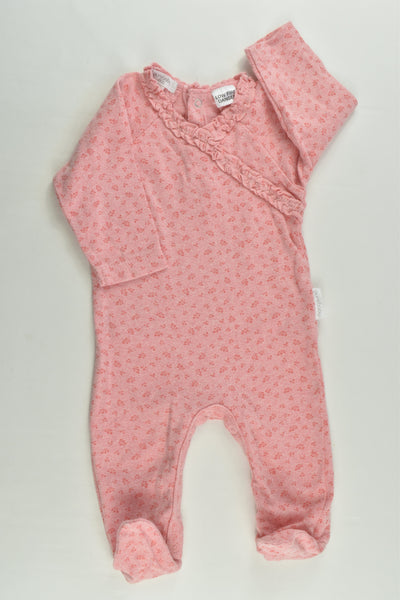 Purebaby Size 000 Footed Romper