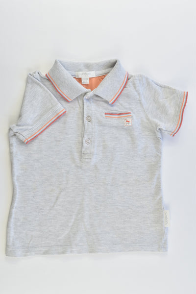 Purebaby Size 1 (12-18 months) Collared Polo T-shirt