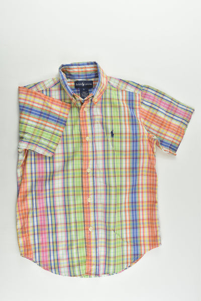 Ralph Lauren Size 5 Colorful Checked Shirt