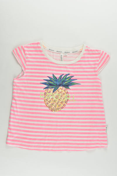 Rip Curl Size 6-7 Pineapple T-shirt
