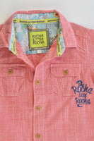Rocha Little Rocha (Debenhams) Size 1 Collared Casual Shirt