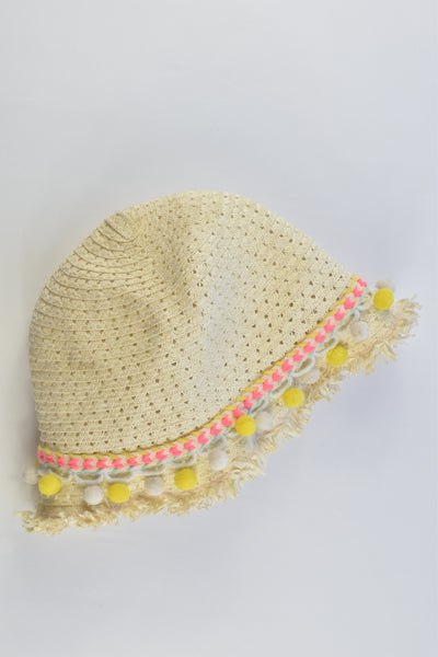 Seed Heritage One Size (Approx 4-8 years) Straw Hat