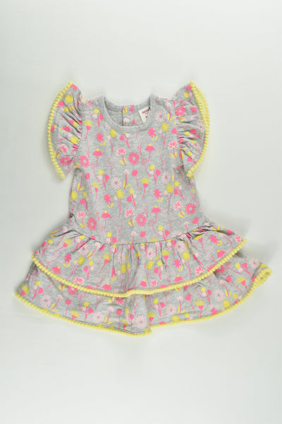 Seed Heritage Size 00 (3-6 months) Floral Dress
